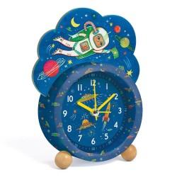 Djeco Ρολόι - ξυπνητήρι - φως - Διάστημα