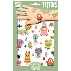 Djeco Τατουάζ 'Τερατάκια'