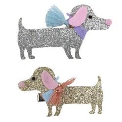 Great Pretenders Κλιπ μαλλιών - Σκυλάκι - 2 τεμάχια