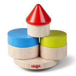 Haba παιχνίδι στοίβαξης με 10 ξύλινα τουβλάκια - Πύργος ισορροπίας