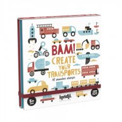 LONDJI - Bam! Σφραγίδες Μέσα Μεταφοράς