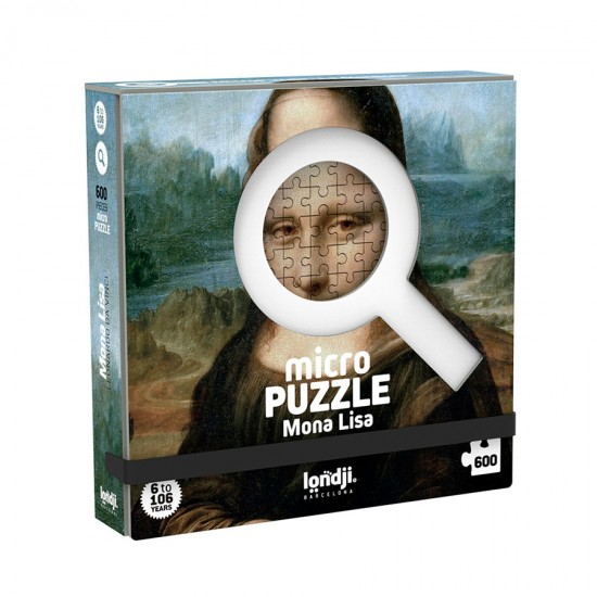 Micropuzzle Μόνα Λίζα