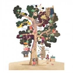 LONDJI - Παζλ Δέντρο 50 κομμάτια