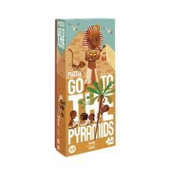 LONDJI - Παζλ Πάμε στις Πυραμίδες 100 κομμάτια