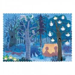 LONDJI - Παζλ Τσέπης Νύχτα και Μέρα στο Δάσος