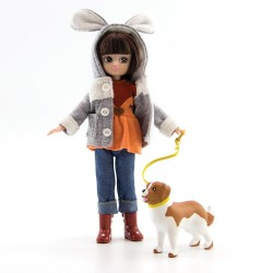 Lottie Κούκλα βινυλίου - Βόλτα στο Πάρκο - 18εκ