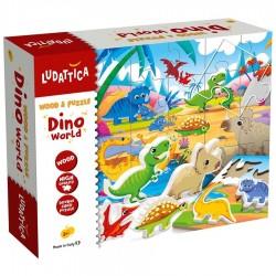Ludattica - Παζλ Και Ξύλινοι Δεινόσαυροι