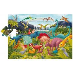 Παζλ Ο κόσμος των δεινοσαύρων