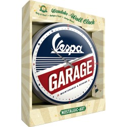 Nostalgic Wall Clock Vespa - Garage