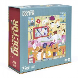 LONDJI - Παζλ Θέλω να γίνω Γιατρός
